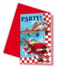 6 inviti con buste Planes™