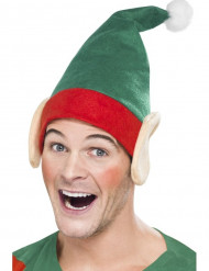 Cappello da elfo con orecchie per adulto