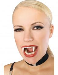 Dentiera fosforescente da vampiro