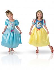 Costume double face Biancaneve/Cenerentola per bambina