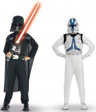 Kit costumi Dart Fener e guardia imperiale Star Wars™ bambino