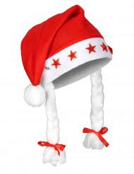 Cappello luminoso di Natale per adulto