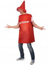 Costume per adulti barattolo di ketchup