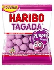 Sacchetto pieno di caramelle Tagada Haribo