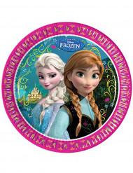 Confezione di otto piattini di carta Frozen™