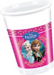 Bicchieri di plastica di Frozen <br />- Il Regno di Ghiaccio™