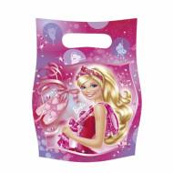 6 Sacchetti per caramelle soggetto Barbie Ballerina™
