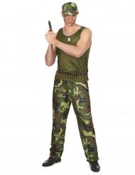 Costume da militare per uomo