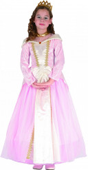 Costume principessa rosa e panna bambina