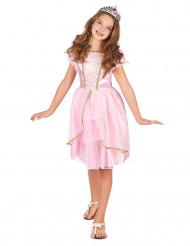 Costume principessa in lilla per bambina