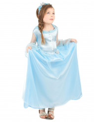 Costume principessa azzurra per bambina