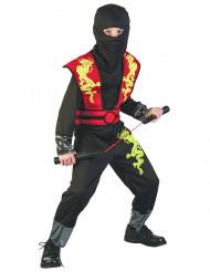 Costume da ninja giapponese per ragazzo
