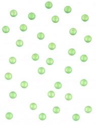 60 grammi di perline verdi a forma di goccia