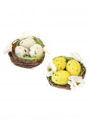 2 decorazioni nidi di Pasqua