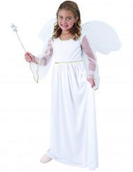 Costume da angioletto bianco per bambina