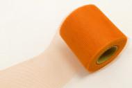 Rotolo di tulle arancione 20 m x 8 cm