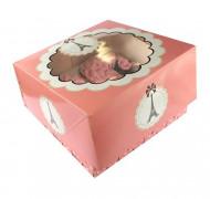 2 scatole per dolci con la Tour Eiffel di Parigi