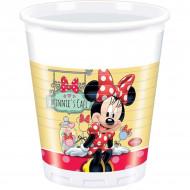 8 bicchieri di plastica Minnie Cafe™