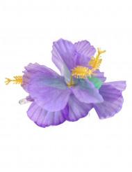 Fermaglio a fiori Hawai viola