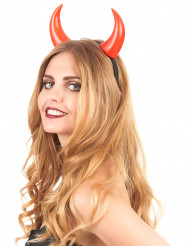Corna rosse da adulto per Halloween