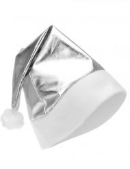 Cappello di Natale in argento metallizzato