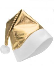 Cappellino di Natale color oro metallizzato per adulto
