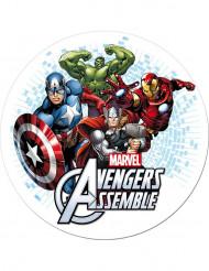 Disco in ostia di Avengers