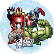Ostia per torta Avengers™ 20 cm