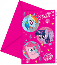 6 Inviti di compleanno My Little Pony™
