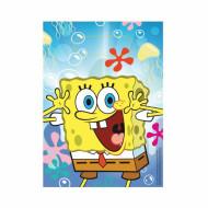 Set di 6 sacchetti per caramelle con SpongeBob