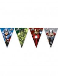 Ghirlanda con bandierine degli Avengers