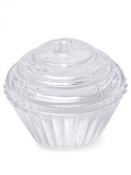 Set contenitori dolcetti in plastica trasparente