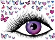 Adesivo per muri farfalle occhio