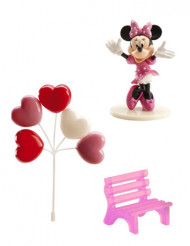 Decorazioni per torte Minnie™ in plastica