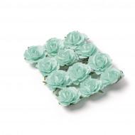 12 Rose da infilare menta