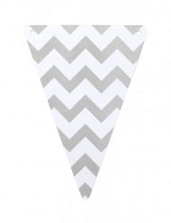 5 gagliardetti DIY zigzag