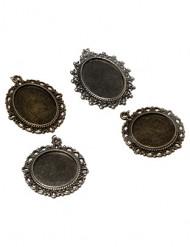 4 splendidi medaglioni vintage