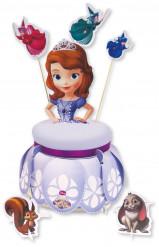 Kit di decorazioni di cartone per torte Sofia la principessa™