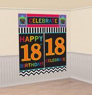 Set di poster 18? compleanno