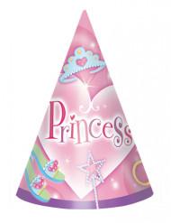 8 cappelli di compleanno delle principesse