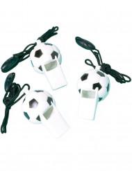 12 fischietti Pallone di calcio