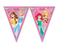 Ghirlanda con bandierine Principesse Disney™