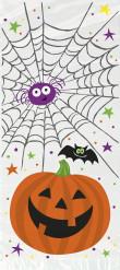 20 bustine con zucca per Halloween