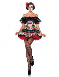 Costume Giorno dei Morti corto donna