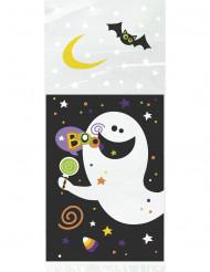Confezione da 20 sacchetti Happy Halloween di plastica