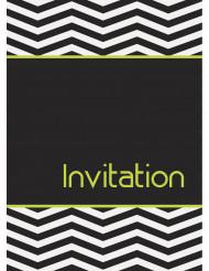 8 cartoncini invito festa Design