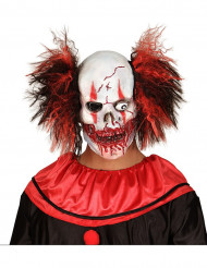 Maschera in lattice clown sanguinante