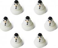 Mini pupazzi di neve natalizi 1,5 cm