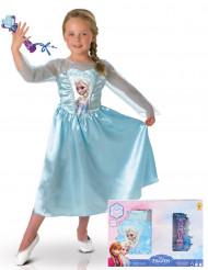 Kit travestimento Elsa Frozen-Il regno di Ghiaccio™+ microfono