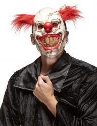 Maschera da clown assassino per adulto